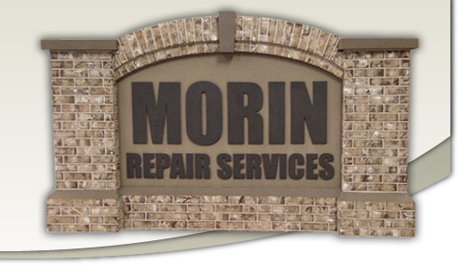 Morin Faux Brick Monument