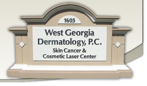 West Georgia Dermatology Sign Monument